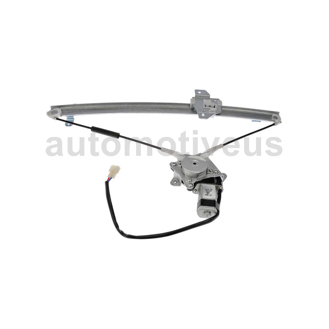 Rear Front Power Window Motor and Regulator Assembly 4