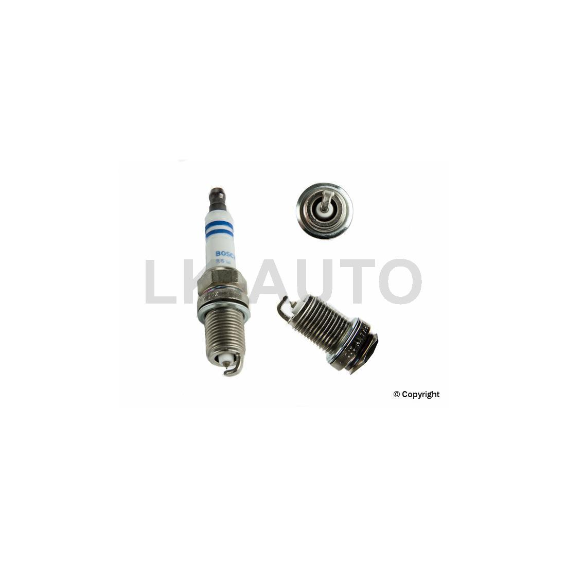 Bosch 4 Of Spark Plugs For Ford Escort