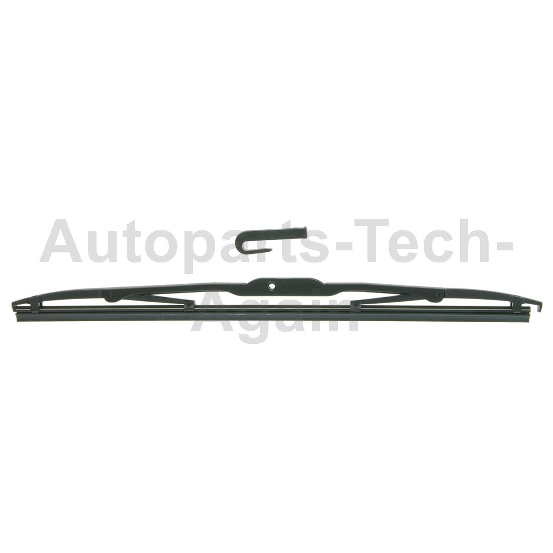 Anco Windshield Wiper Blade Front Set Of 2 For Abarth