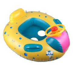 Baby Blow Up Ring Chair Living Room And Ottoman Inflatable Sunshade Kids Toddler Float Seat Boat