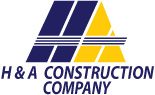 H & A Construction Logo