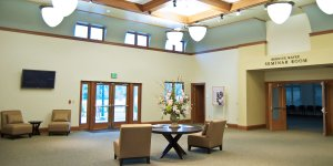 SNJM Heritage Center Entry