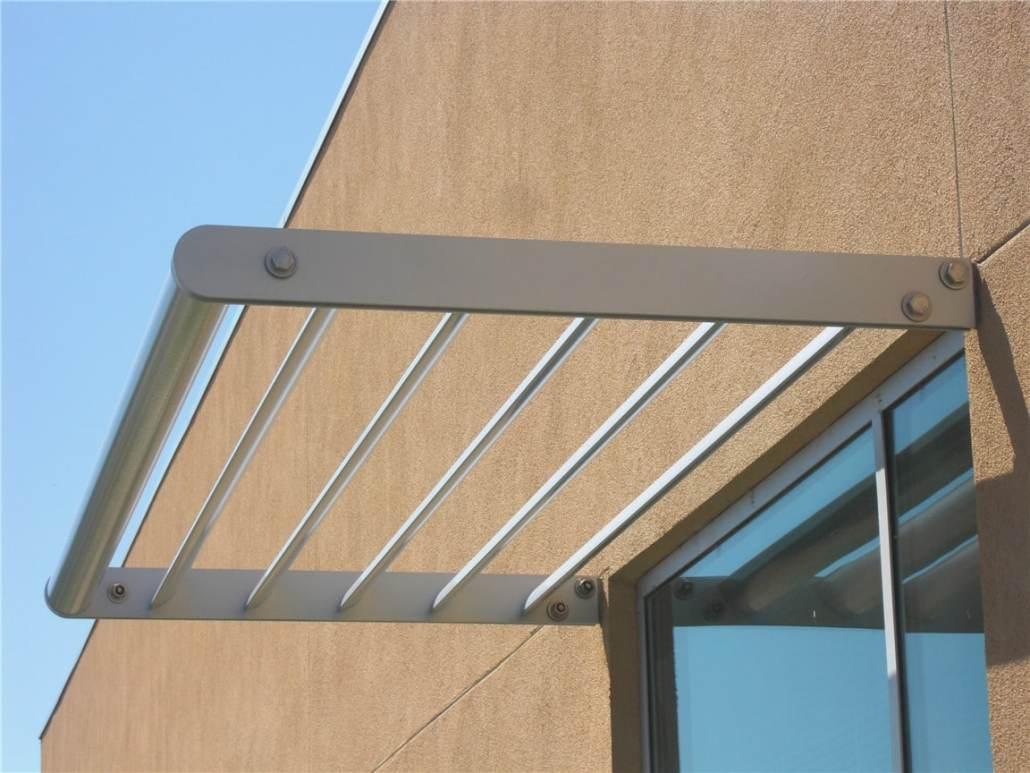 Aluminum Sunshades Sunscreens H H Metals Custom Designed