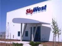 Prefabricated Entry Canopy | Skywest Hangar | H&H Metals