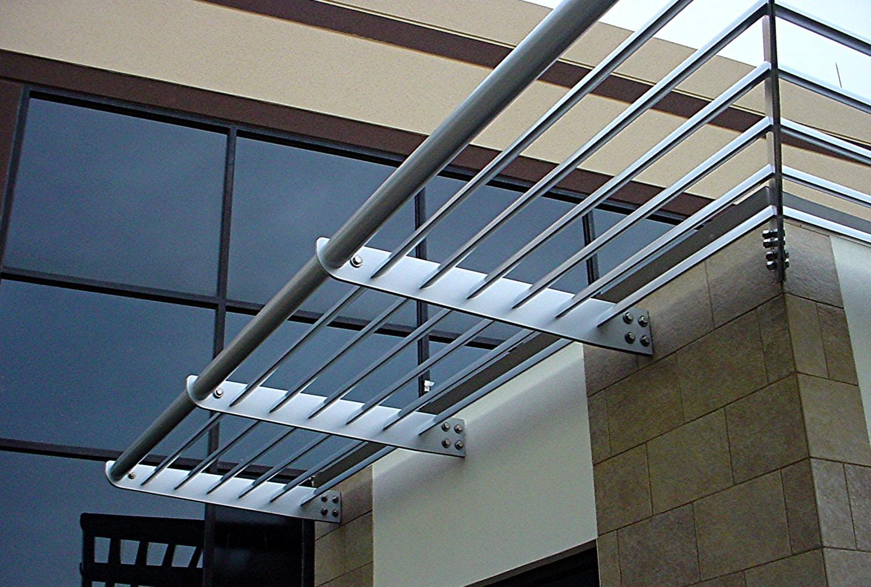 Aluminum Sunshades  Sunscreens  HH Metals  Custom Designed