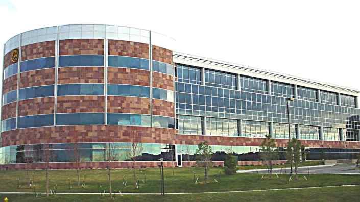 aluminum composite panel facade
