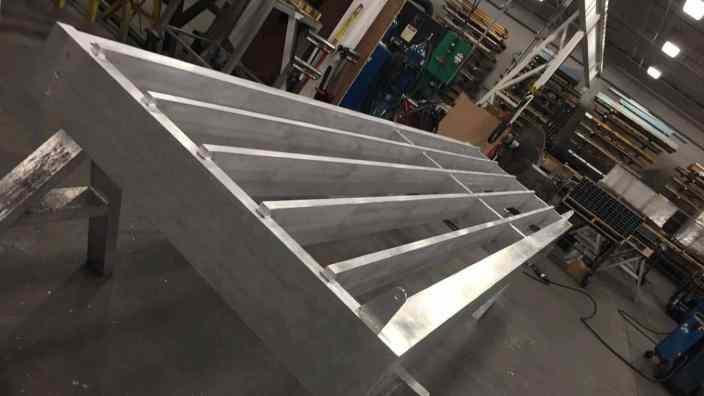 Aluminum Sunshade Canopy