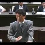 都構想論戦 松井知事 vs 自民・花谷府議