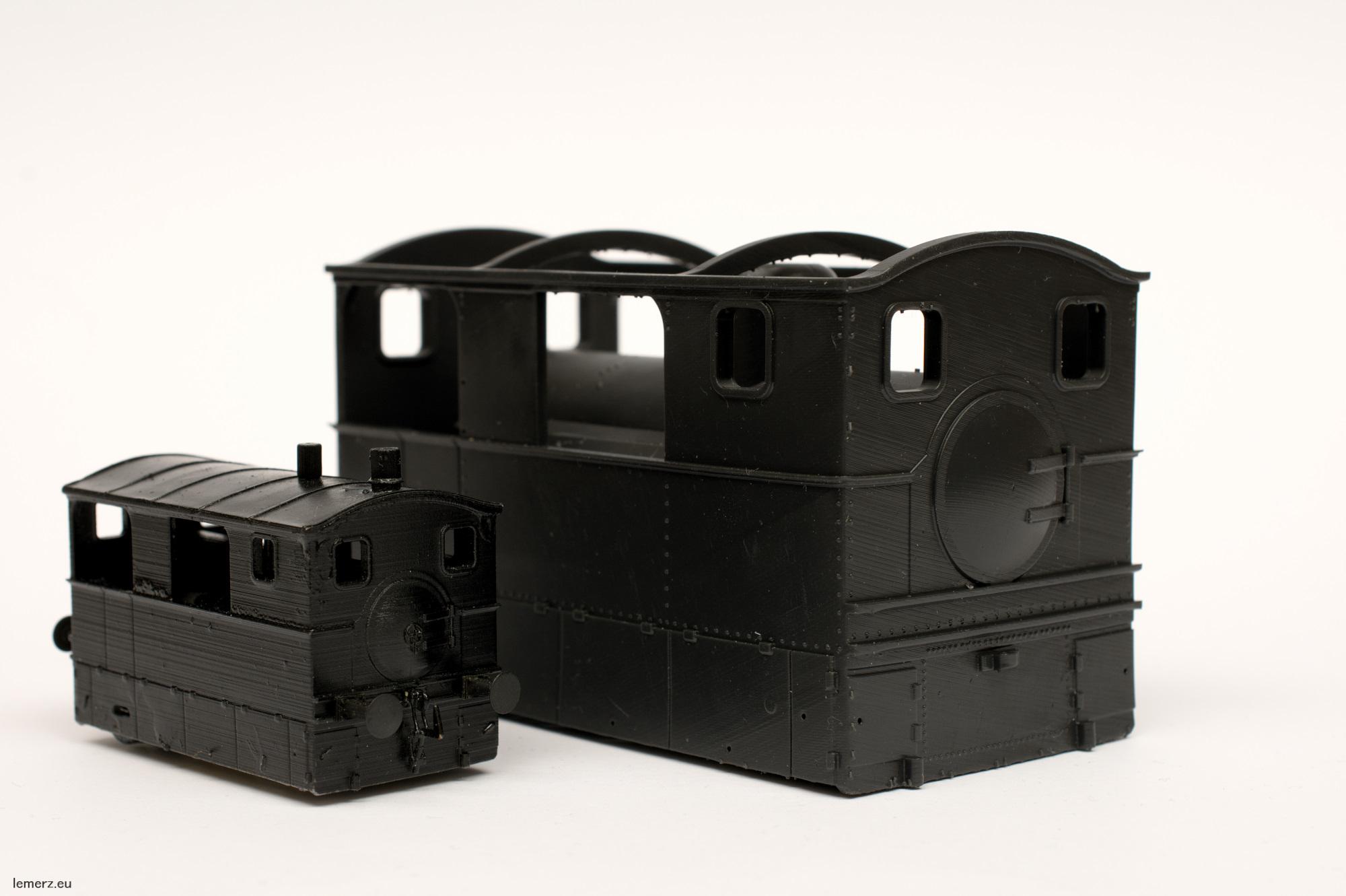 Wiener Dampftramway 3achsige Lokomotive Nr. 6 bis 11  Spur Null