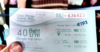 40 baht single trip only