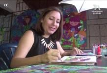 Colombiana en el Art Naif Festiwal, Noche tanguera y conciertos