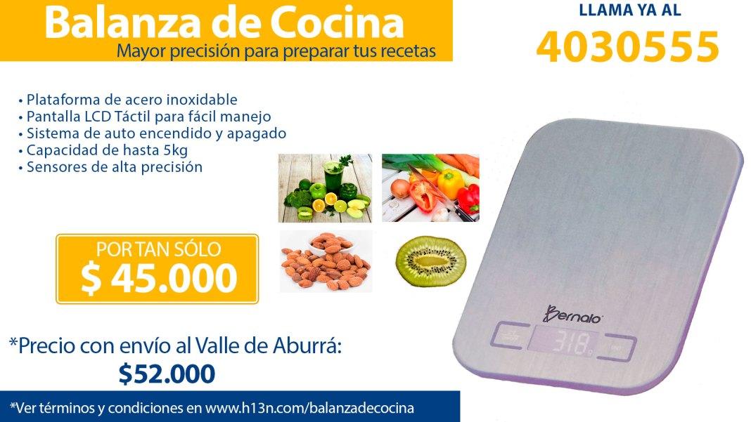 Balanza de Cocina Medellín