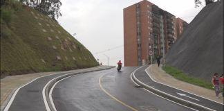 Entregan nueva vía y ampliación de otras en Altos del Rodeo, occidente de Medellín