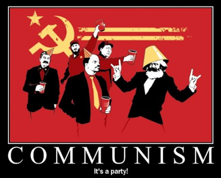 Communism : it's a party
