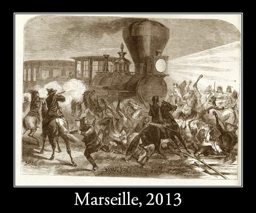 Far West marseillais : l'attaque de train