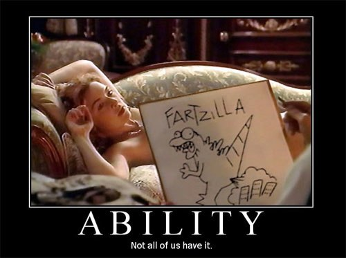 capacité ability fartzilla