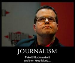 journalism - demorand keep faking