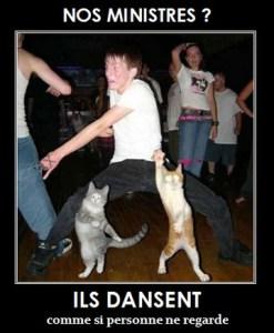 nos ministres dansent