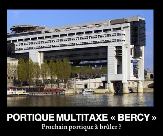 portique multitaxe Bercy