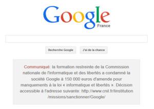 google communiqué