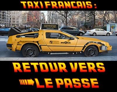 taxis retour vers le passé