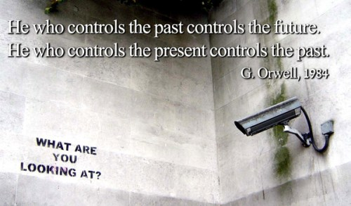 orwell who controls past present future