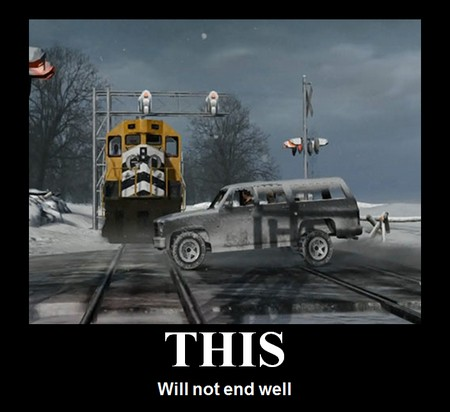 this will not end well train