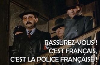 c'est français c'est la police française