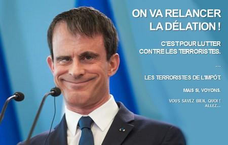 valls contre les terroristes de l'impôt