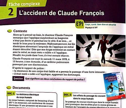 manuel scolaire - claude françois