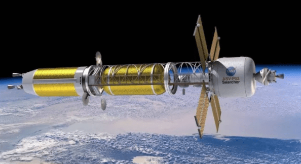 Nuclear propulsion in space