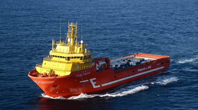 Viking Energy supply vessel planned to run on ammonia fuel cells
