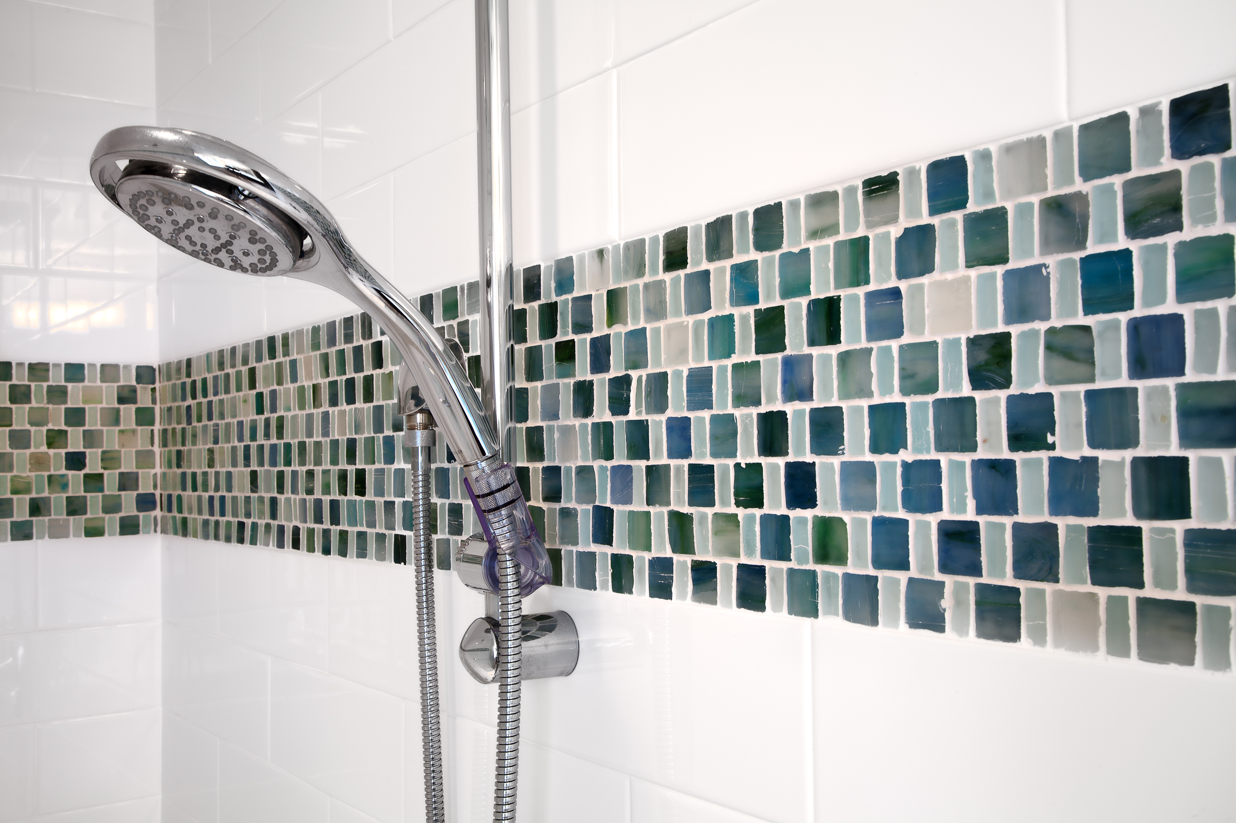 different shower heads h2d architects