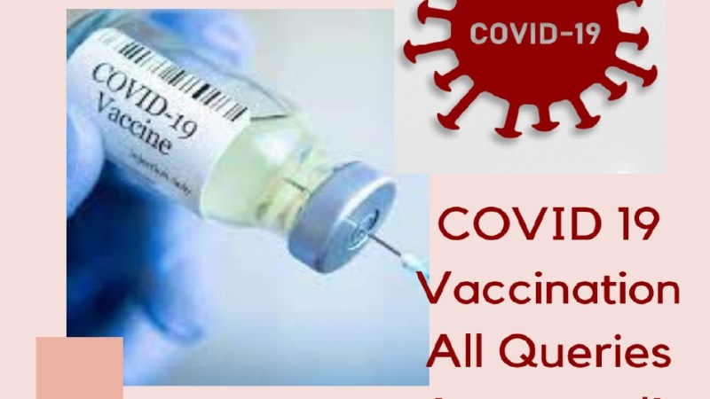 Covid-19 Vaccination – All Queries Answered!