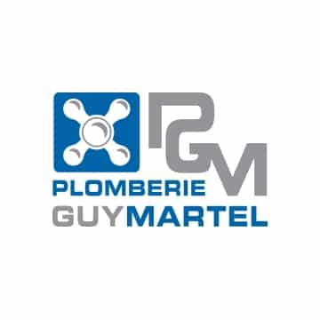 Logo plomberie Guy Martel, partenaire Nobua