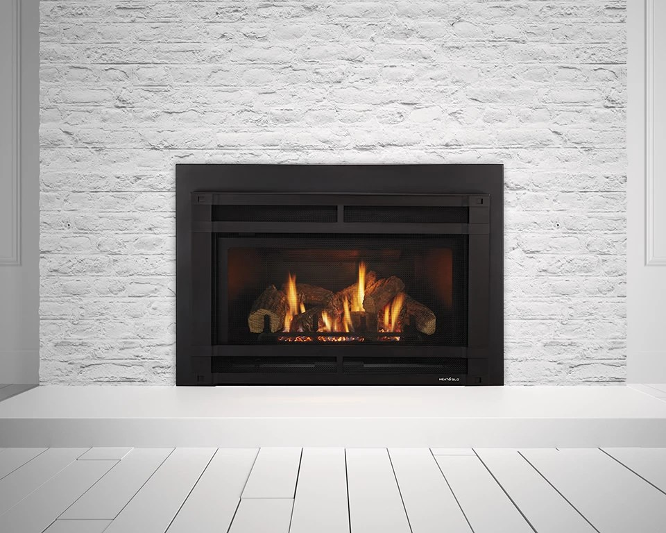 Gas Fireplace Surround Plans Heat & Glo - Supreme I30 Gas Insert - H2oasis