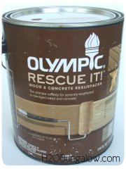 Olympic Rescue it! concrete and wood resurfacer review