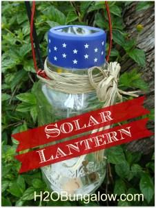 Mason jar Solar lantern
