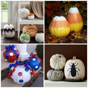 Painted Pumpkin Decorating Ideas