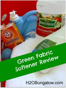 Green Fabric Softener Review