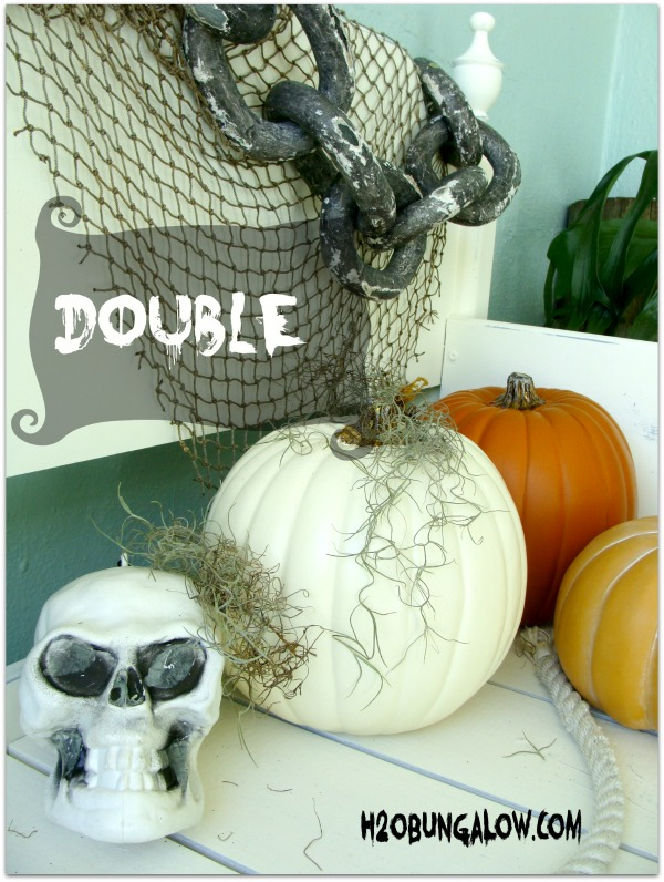 halloween decorating ideas with pumpkins H2OBungalow