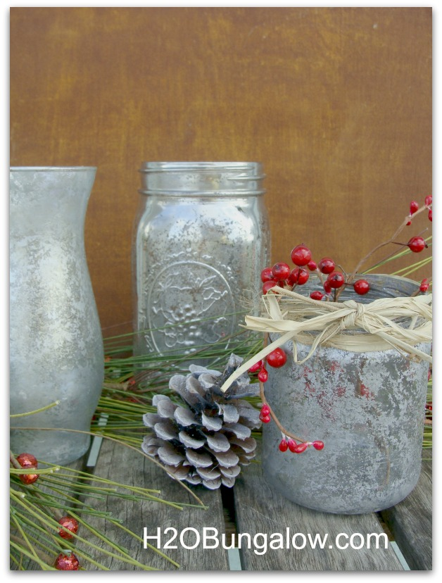 picture of both mercury glass styles