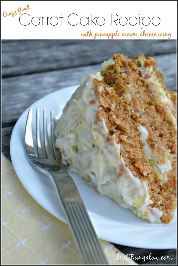 Tasty-carrot-cake-recipe-with-pineapple-cream-cheese-icing-H2OBungalow