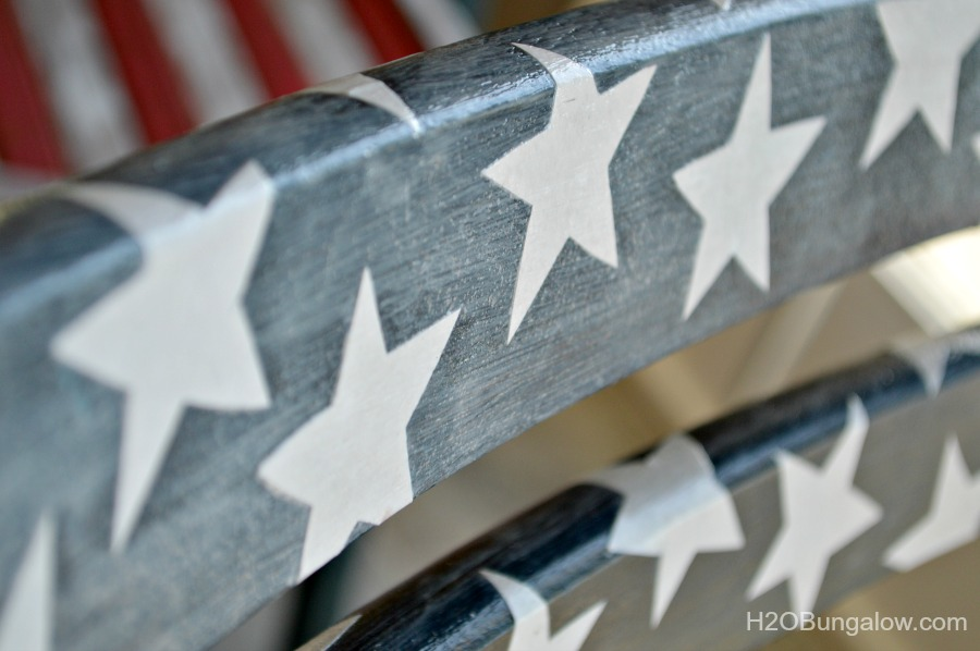 Red white and blue themed patriotic projects for bloggers themed tour by H2OBungalow