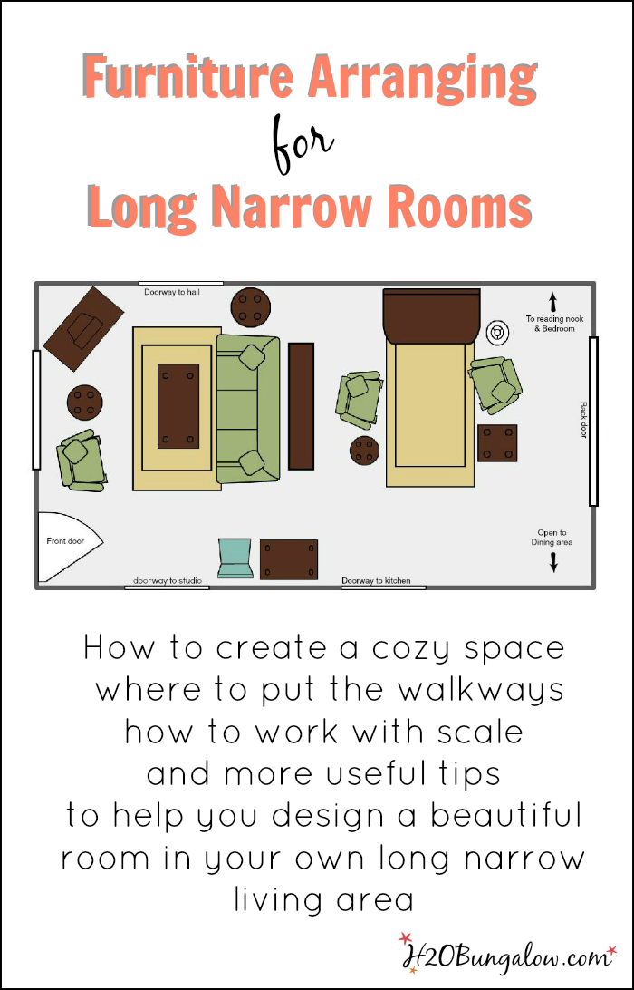long living room layout blue and white walls 7 tips for arranging furniture in a narrow