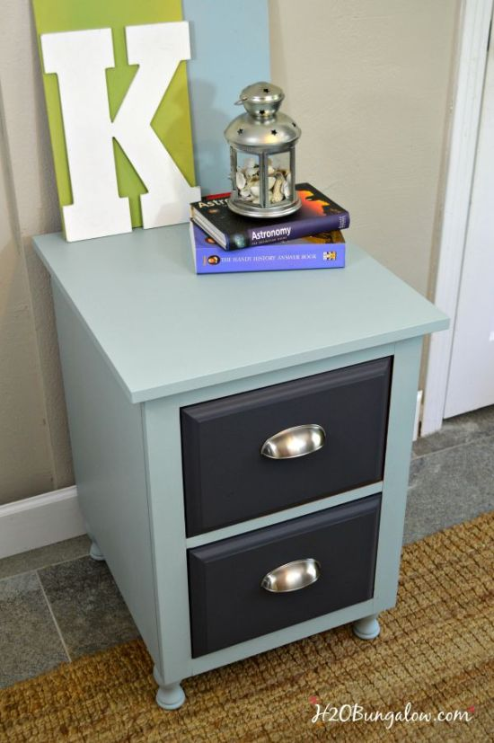 Nightstand-makeover-DIY-project-H2OBungalow