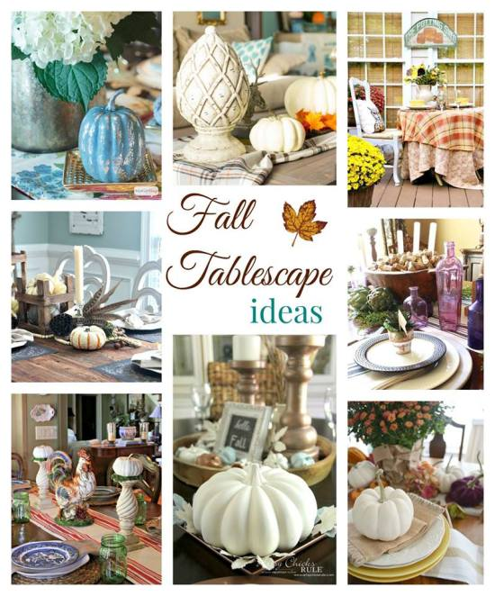 "Make a simple and festive fall wreath this year. See 32 fall projects for mega awesome fall inspiration in wreaths, mantels, tablescapes and fall crafts in the Fall Ideas Tour. www.H2OBungalow.com #Fall ""Falldecor #FallIdeasTour"