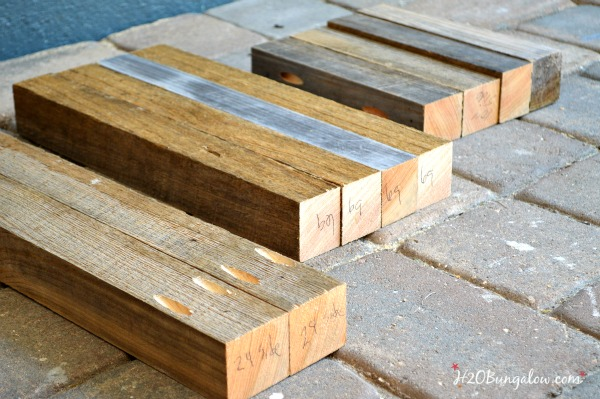 Make a simple DIY wood bench or table. This is a great beginner build project. Linked to the Power Tool Challenge Team and several other simple DIY tool projects www.H2OBungalow #PowerToolChallengeTeam