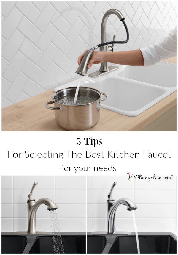 5 Tips For Selecting The Best Kitchen Faucet