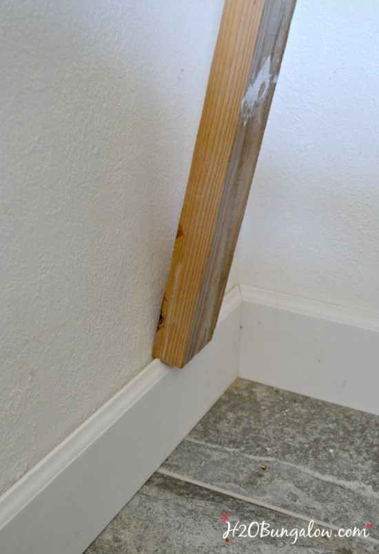 DIY baseboard tricks H2OBungalow